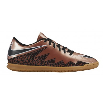 NIKE HYPERVENOM PHADE II IC Brown-Chrome, sisäpelikenkä